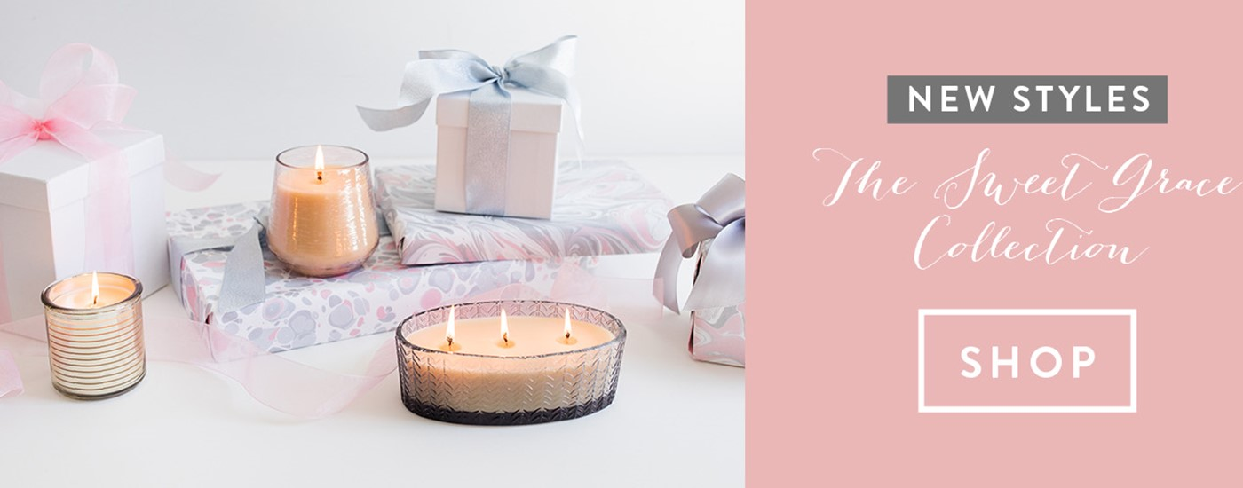 Sweet Grace Collection Candles